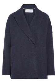 Harris Wharf London Mélange wool-felt coat