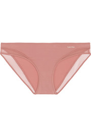 Calvin Klein Underwear Naked Touch tulle-paneled stretch briefs