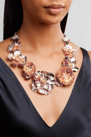 Rose gold-plated necklace