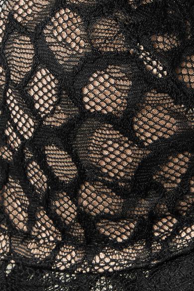 Vixen Stretch Tulle And Lace Underwired Bra by Calvin Klein Underwear