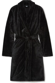 Chevron terry robe