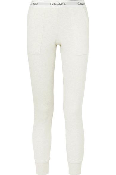 67c580a9bcbb Calvin Klein Underwear | Modern cotton-blend jersey track pants ...