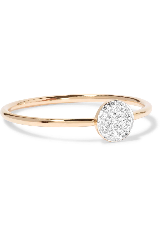 I+I 14-karat gold diamond ring