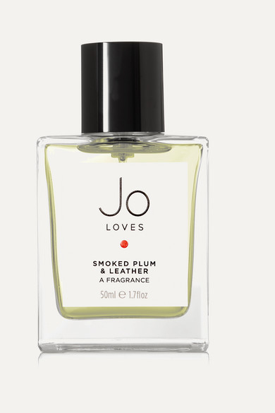 JO LOVES SMOKED PLUM & LEATHER, 50ML - COLORLESS