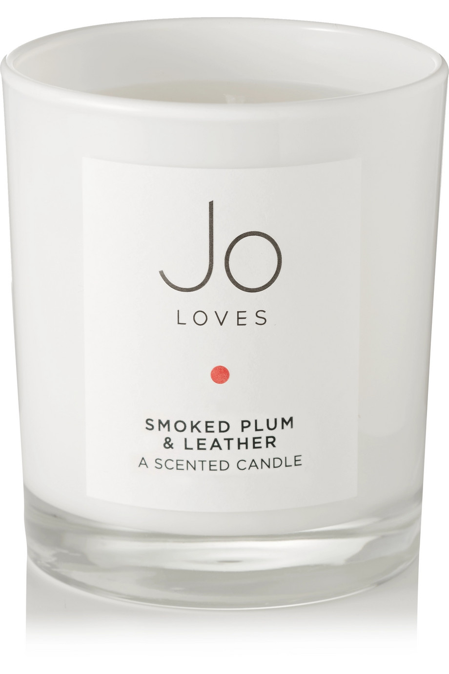 Jo Loves Smoked Plum & Leather scented candle, 185g