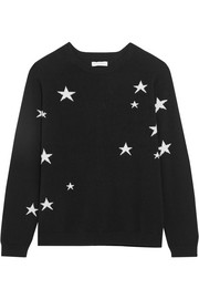 Chinti and Parker Printed cashmere sweater