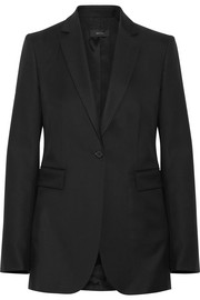 Laurent Super 100 wool-twill blazer
