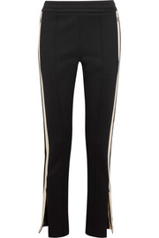 Joseph Scuba striped stretch-neoprene track pants