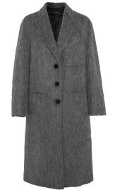 Joseph Jimo brushed wool-blend coat