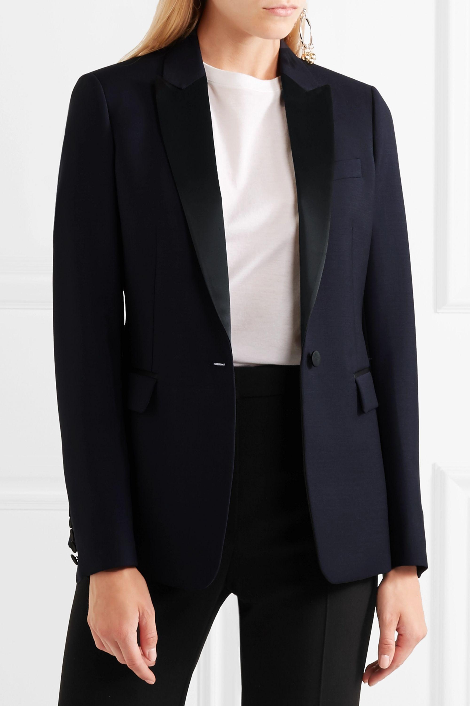 Joseph Hampstead satin-trimmed wool-blend tuxedo blazer