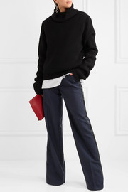 Ferdy wool and mohair-blend wide-leg pants