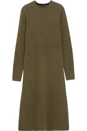 Joseph Merino wool midi dress