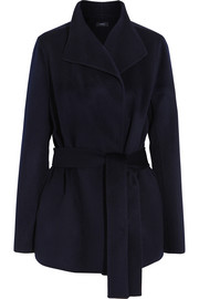 Joseph Lima double-faced wool and cashmere-blend coat