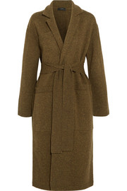 Joseph Knitted merino wool robe coat