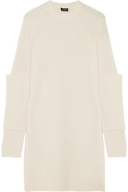 Joseph Oversized ribbed cashmere tunic