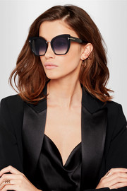 Samantha cat-eye acetate sunglasses
