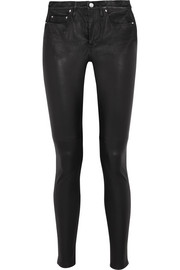 IRO Stretch-leather skinny pants