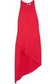 IRO Hamlin asymmetric crepe dress