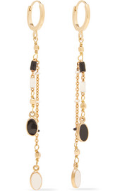 Isabel Marant Gold-tone beaded earrings