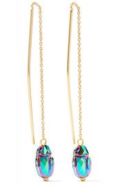 Isabel Marant Gold-tone crystal earrings