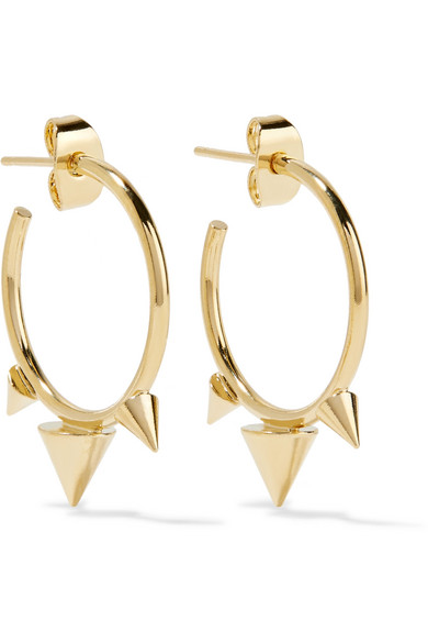 Isabel Marant. Gold-tone hoop earrings e371170780