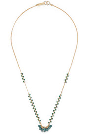 Isabel Marant Gold-tone beaded necklace