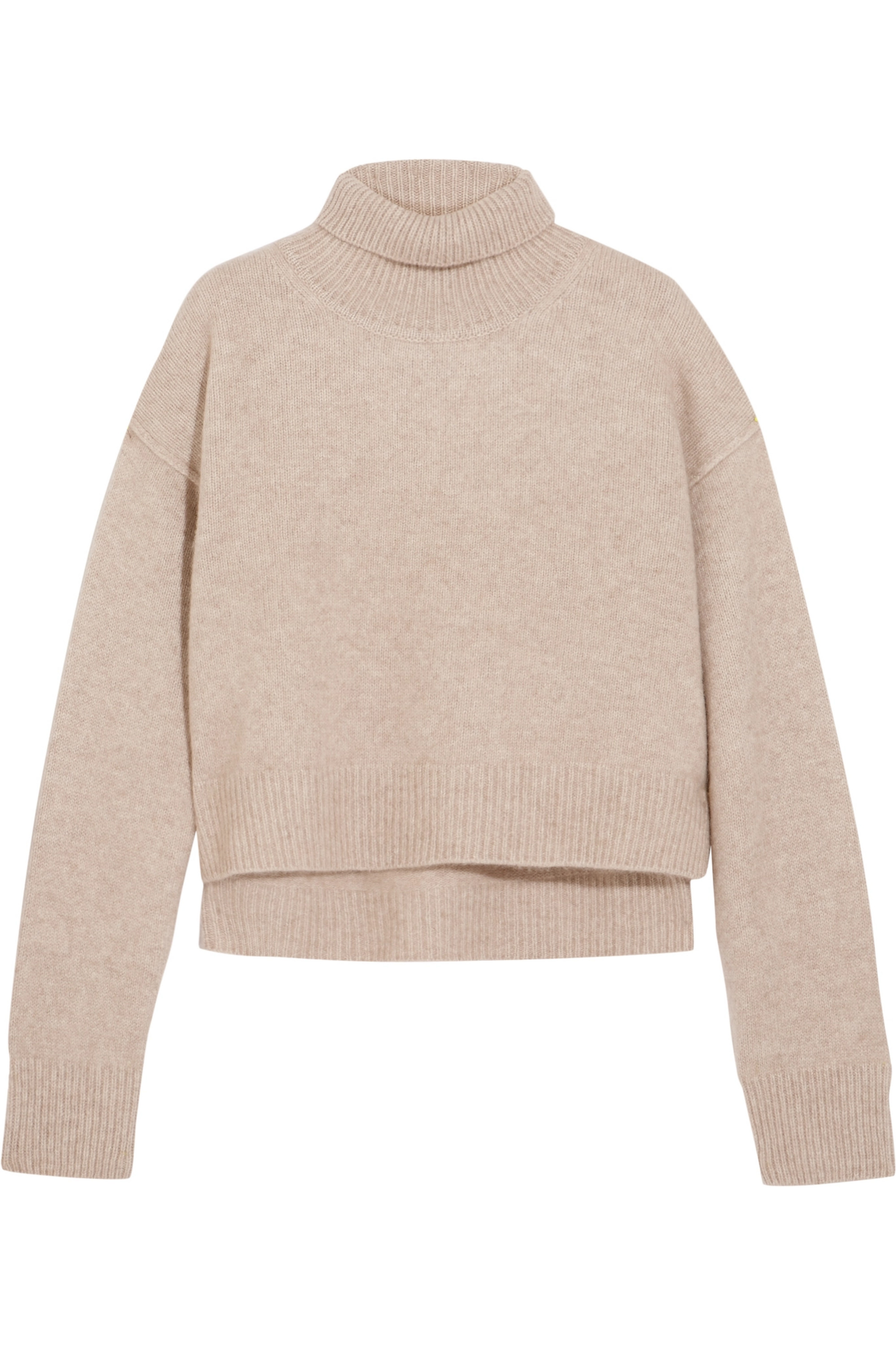 REJINA PYO Lyn cropped cashmere turtleneck sweater
