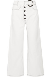 Emily high-rise wide-leg jeans