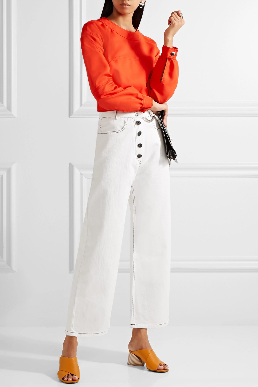 REJINA PYO Emily high-rise wide-leg jeans