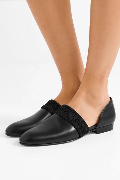 Loewe Flex d'Orsay Loafers im D'Orsay-Stil aus Leder