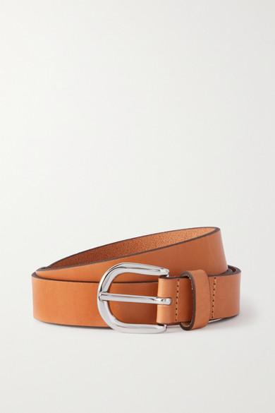 Zap Leather Belt, Camel