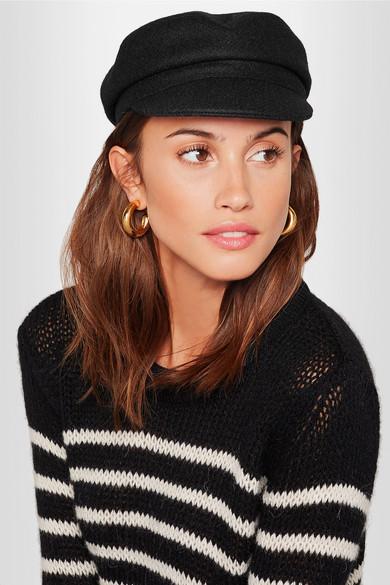 930818ecb00 Isabel Marant. Evie wool-blend felt cap