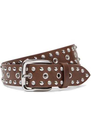 Rica studded leather belt Isabel Marant MYtx0