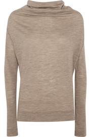 Wool-jersey top