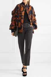 Vivienne Westwood Anglomania Fever wool-blend bomber jacket