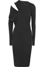 Vivienne Westwood Anglomania Timans cutout draped stretch-jersey dress