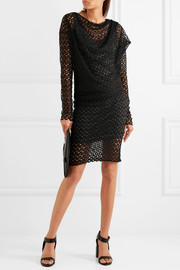 Vivienne Westwood Anglomania Toga draped lace dress