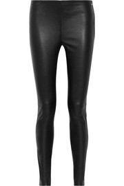 Karl Lagerfeld Ikonik stretch-leather leggings