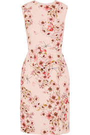 Giambattista Valli Floral-print silk-crepe dress
