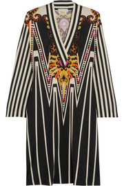 Etro Printed silk-jersey dress
