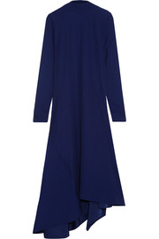 Marni Asymmetric crepe maxi dress