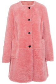 Marni Reversible shearling coat