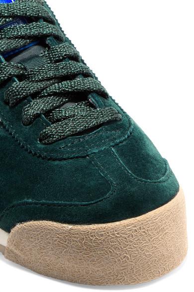 adidas Originals Samoa Sneakers aus Veloursleder mit Lederbesatz