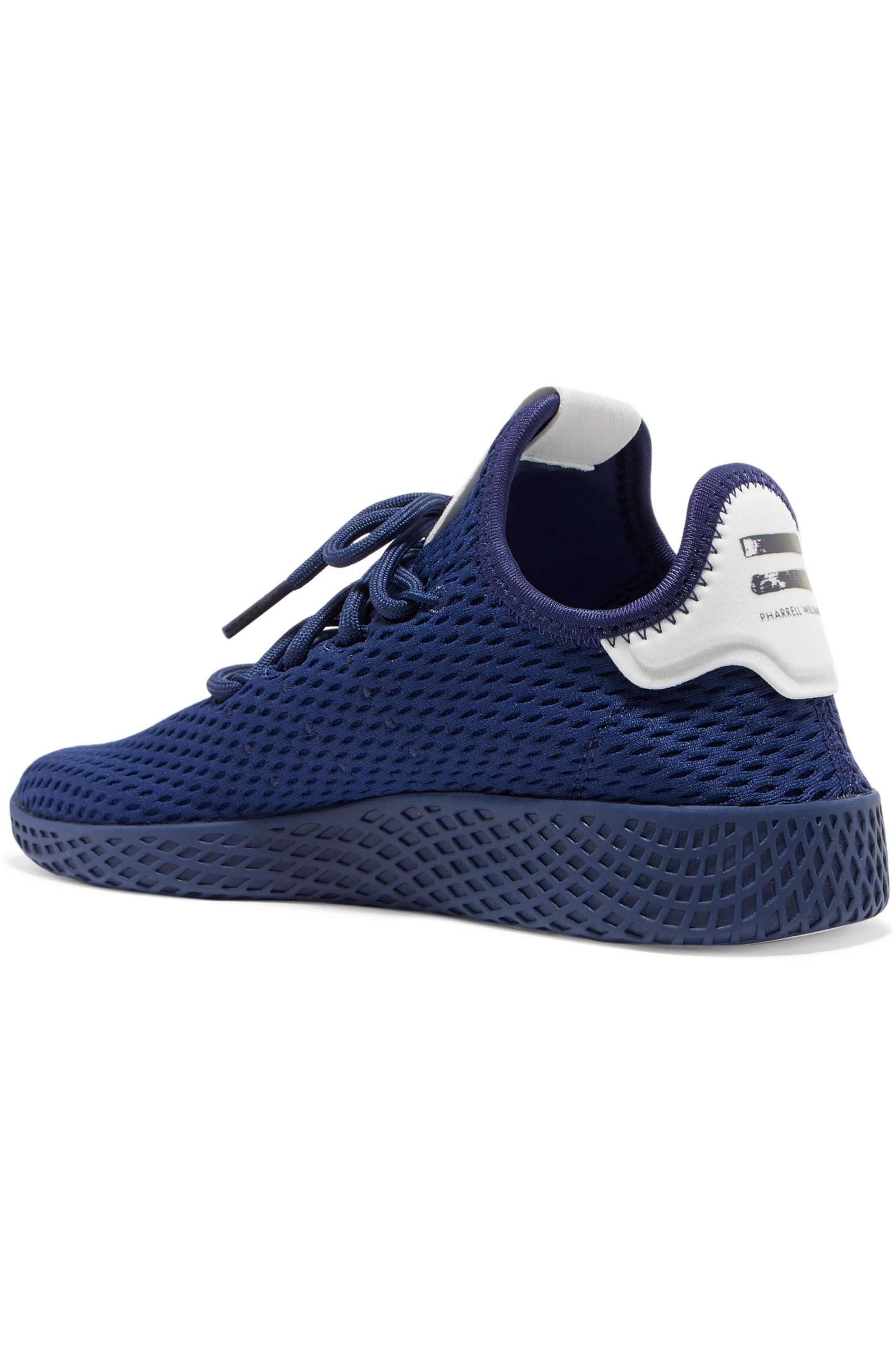 adidas Originals + Pharrell Williams Tennis Hu stretch-knit sneakers