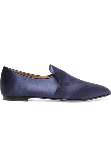 The Row Satin Loafers shop offer cheap online oNbAih7EYm