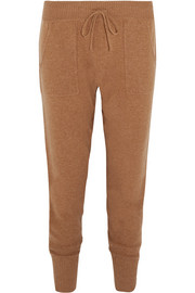 Frileuse Ardent wool and cashmere-blend track pants
