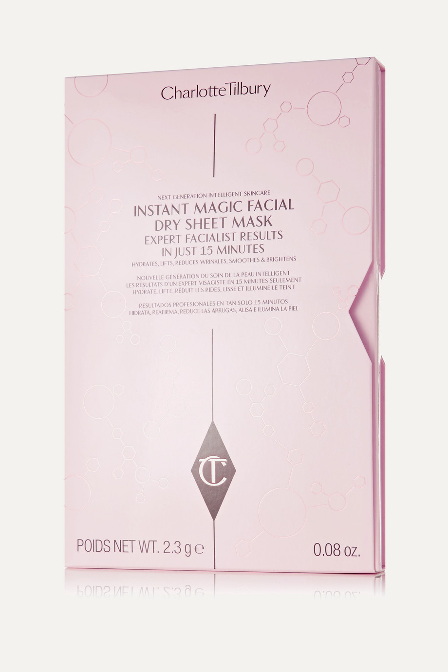 Charlotte Tilbury Instant Magic Facial Dry Sheet Mask x 4