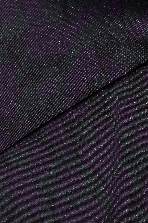 Eres Leopard-print silk-blend satin soft-cup bra