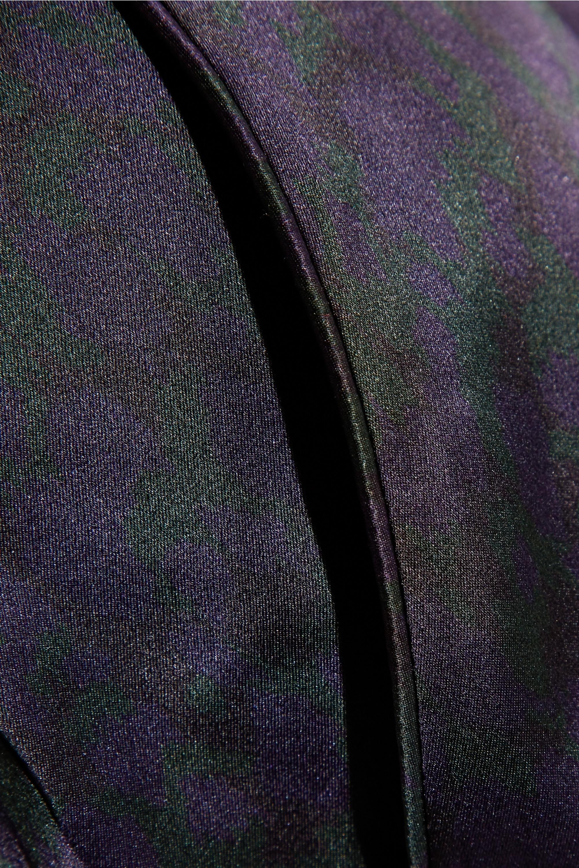 Eres Pantalon de pyjama en satin de soie à imprimé léopard Ready