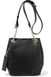 Karl Lagerfeld K/Slouchy small leather shoulder bag